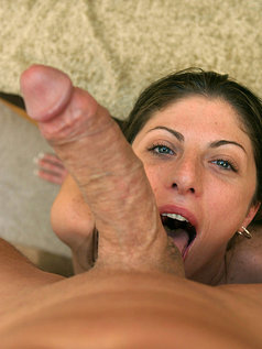 POV Blowjob and Fucking with Brunette Katie Lane