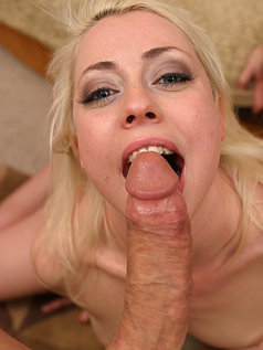 Lorelei Lee - Cute Blonde Gives a Blowjob - POV