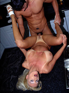 Brittany Andrews - Blonde MILF with Big Tits Gets Fucked