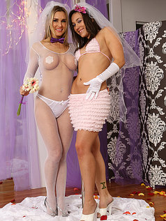 Sinn Sage and Tanya Tate Get Wedding Photos