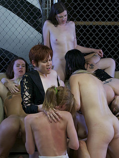 Group Sex Highlights from Lesbian Fuck Club
