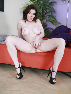 Mae Victoria Gets Anal and Sucks Him Off