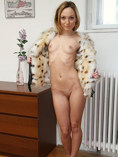 Nataly Von Shows Off and Begs For It