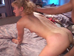 A hot mom goes for a black cock...