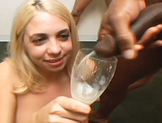 Britney Madisson swallows 12 cumshots!