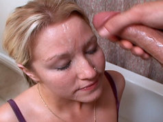 Sweet slutty Britney sucks cock for the first time! Well. . . the first time on video anyway!