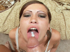 Sassy Louts learns how to swallow