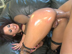 Eva Angelina Has A Perfect Oily Ass!