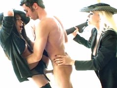 Jenaveve Jolie And Nicki Hunter Get Nailed Hard!