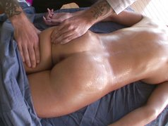Massaged Oiled And Fucked 1 - Scene 4