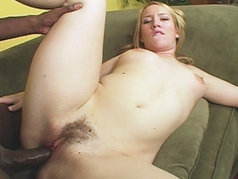 Hot blonde Jaime Rae is the next tight body to take on the black cock...