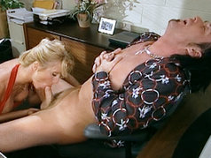 T.J. Hart Just Loves To Show Off Her Cock Sucking Skills...So She Does!