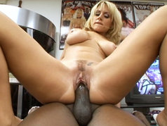 Lex hammers an amazing all natural blond