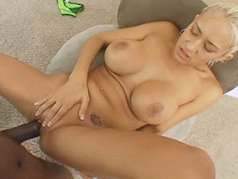 Busty Blonde Trina Michaels Gets Nut Busting Facial From Lexington Steele