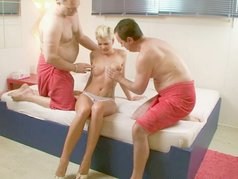 Scarlet Young - Sexy Lady Gangbang Style - Scene 3