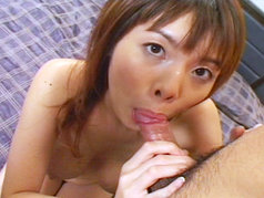 Momoka Sucks Her Way To A Cum Spray!