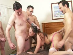 Home Made Gangbang 6 - Scene 1