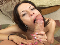 Kora Cumming Gets Her Mouth Loaded With Hot Ball Snot!