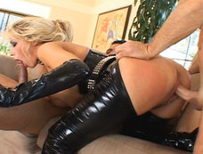 Leather Clad Slut Candy Manson Loves Getting Fucked By Big Cocks!