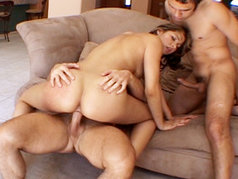 John Strong And Sascha Take Turns Banging Celina Cross' Tight Teen Twat!