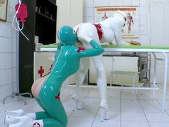 Lucy Loves Latex Lesbians 1 - Scene 1