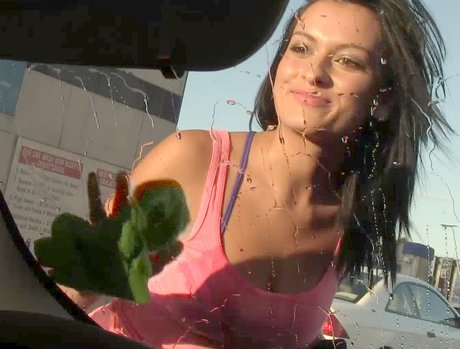Wash My Car Then Wax My Cock 1 - Scene 3