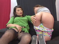 Latin Mother Naughty Daughter 2 - Scene 4