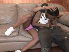 Young Black Cheerleaders 2 - Scene 3