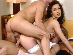 Pierre Woodman Has To Work For This One, But In The End Hungarian Babe Illana Moore Crumbles Under The Cock!