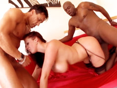 Busty Gianna Michaels Gets Double Teamed By Marco Banderas And Lexington Steele