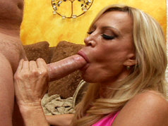 Busty Blonde MILF Amber Lynn Shows Brandon Why Experience Makes All The Difference!