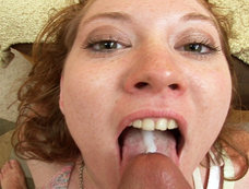 Redhead Slut Mylie Moore Takes A Real Knocking On The Backdoor Before Eating Some Nut Buttter!