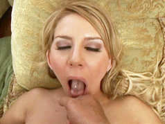 Allie Foster Gets Her Tits And Pussy Fucked Before Swallowing A Hefty Load Of Spunk!