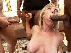 Adrianna Nicole Is A Busty Cock Sucking Blonde. Did I Mention She Loves Jizz?