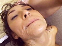 Roxy Jezel Swallows Down Multiple Loads After A Nasty DP!
