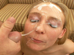 Beautiful Brunette Slut Natalie Norton Sucks On Multiple Cocks Before Getting Her Face Splashed In Sperm!