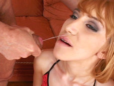 Petite Nympho Cums for Merciless Double Penetration