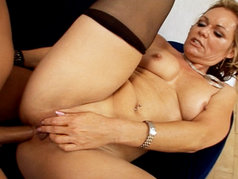 Ultra hot MILF gets banged!