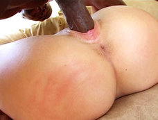 Beautiful Babe Julia Bond Gets Her Bubble Butt Banged By A Black Dick!