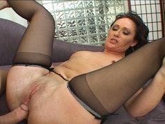 MILF Holly Hughes Gets Cock Slammed Deep!