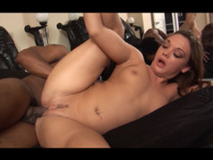 Krystal Jordan Gets Bubble Butt Blasted With Cum!