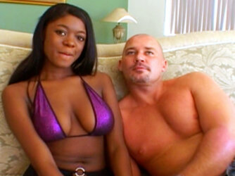 Bambi Bliss Gets Her Ebony Cunt Cock Crammed By Mark Davis!