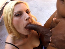 Classy Milf Darryl Hanah acting slutty in the parking lot!