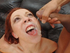 Redhead Slut Trinity Post Get Her Throat Fucked By Hard Dicks!