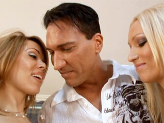 Marco Banderas Fucks Two Hot Babes On His Birthday! Lucky Guy!