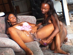 Anna Belle And Ashley Brooks Are The Hottest Black Lesbians EVER!