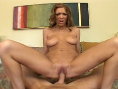 Angelica Lane Fucks and Swallows in POV
