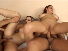 Must See!  Group Sex with Anal for ''Misty'' and Mandy May
