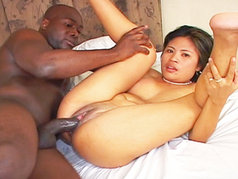 Shy Asian Nikki is a Hardcore Cumshot Fiend