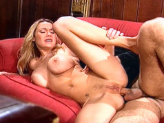 Blonde with Big Tits Taylor St Claire Needs More Anal